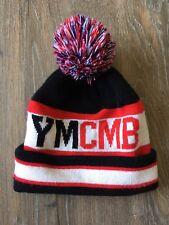 Bonnet YMCMB Acrylique Pompon Junior ado Adulte