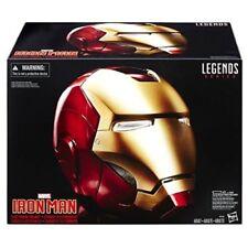 Iron Man Electronic Helmet Marvel Legends Detachable Magnetized Face Plate Toys