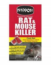 Nippon Vitax Rat & Mouse Killer Fresh Bait 150g Pack Pest Control