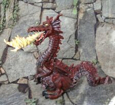 "Fire Breathing Red Dragon 4 1/4"" Figurine 1999 Papo"