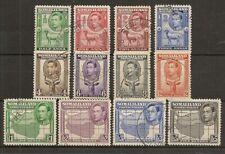 SOMALILAND 1938 KGVI TO 5R SG93/104 FINE USED