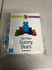 Lucentee FDA Silicone Gummy Bear Candy Mold 2-Pack