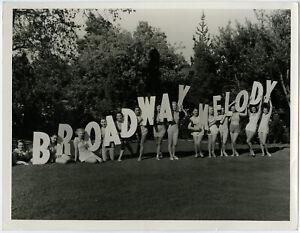 Ballerina Chorus Girls Broadway Melody of 1936 Large Original CS Bull Photograph