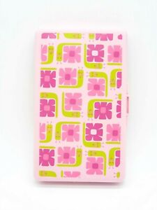 Pink Floral Girl Baby Wipes Travel Case Diapering Accessory NEW