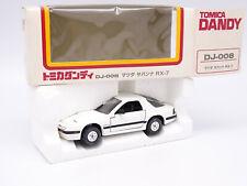 Tomica Dandy 1/43 1/40 - Mazda Savanna RX7 GT Limited Blanche