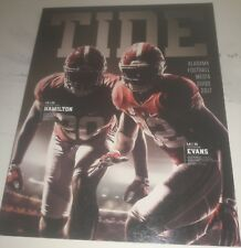 2017 ALABAMA CRIMSON TIDE FOOTBALL MEDIA GUIDE LIMITED EDITION w/ 208 PAGES
