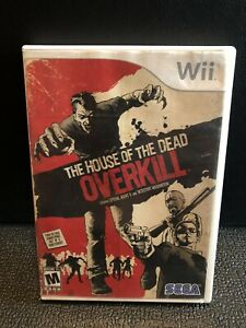 The House of the Dead: Overkill (Nintendo Wii, 2009) Complete CIB.