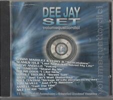 DEE JAY SET - Volume 14 - Best Of House CD (Danny Marquez/Hound Dogs) Italian