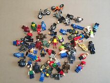 60 Non Lego Minifigures Megablok Heroes minifig lot H379