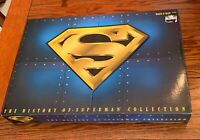 Kenner 1996 THE HISTORY OF SUPERMAN COLLECTION Three 12 INCH FIGURES FAO Schwarz
