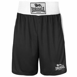 Lonsdale Hombre Pantalones Cortos Deportivos Ligeros Cheques