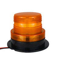 Forklift Truck Amber Warning Light Industrial Flashing Magnetic Beacon 12V 24V