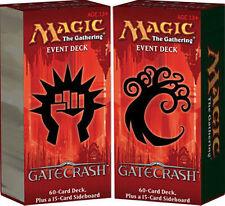 Magic Gatecrash Sealed Event Deck Pair - 1 Rally & Rout + 1 Thrive & Thrash