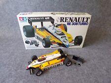 Vintage Tamiya Grand Prix F1 Renault RE 30B Turbo Model Kit 1:20 Scale Well Made