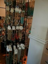 Lot Of 20 Fashion Jewelry Earrings,  Necklaces Wholesale Lots