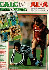 GUERIN SPORTIVO=CALCIOITALIA 1982-1983=POSTER SPILLATO=ROMANZO DEL CAMPIONATO