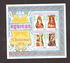 Antigua/Barbuda Souvenir Sheet  # 203a Mint Never Hinged (1974)