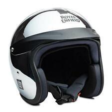100%  Fits For Royal Enfield Chrome Helmet Sun Peak Chrome