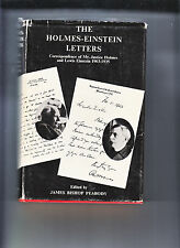 THE HOLMES EINSTEIN LETTERS-1ST/2ND 1965-HB/DJ-JUSTICE WENDELL HOLMES 1903-35 VG