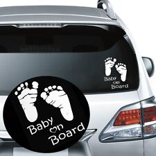 Vinyl Graphics Baby On Board Car Sticker Vehicle Decal Window