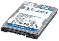 "+ 640GB Western Digital Scorpio Blue 2,5"" Laptop HDD WD6400BEVT SATAII 3GB/s +"