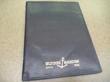 Ulysse Nardin Leather Warranty Card Folder