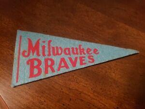 1950s Milwaukee Braves mini pennant nice!