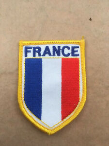 Souvenir cloth Patch, Badge - FRANCE.  L