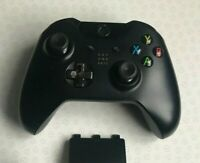 Official Microsoft Xbox One Black Wireless Controller - GC