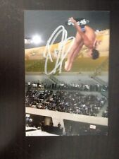 TOM DALEY - BRITISH OLYMPIC DIVER - EXCELLENT SIGNED COLOUR PHOTO