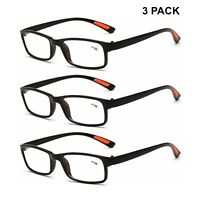 3pcs Uomo Donna occhiali da lettura 1.0 2.0 3.0 1.5 2.5 3.5 flessibile  vintage