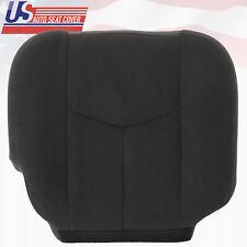 2003 - 2007 GMC Sierra Passenger Bottom Replacement Cloth Seat Cover Dark Gray
