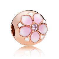 PANDORA ROSE Clip Charm 782078NBP Magnolia Bloom