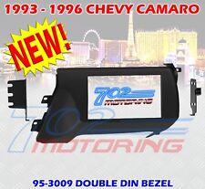 1993 - 1996 CHEVROLET CAMARO DOUBLE DIN CAR STEREO RADIO DASH INSTALLATION KIT