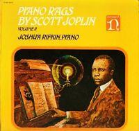 JOSHUA RIFKIN piano rags by scott joplin volume 2 H-71264 uk nonesuch LP PS EX/E