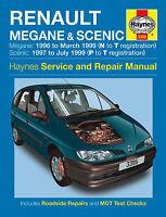 HAYNES RENAULT MEGANE AND SCENIC SERVICE AND REPAIR MANUAL