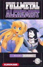 FULLMETAL ALCHEMIST  tome 5 Arakawa Manga shonen