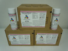 42XX HP LASERJET 4200 4250 4300 4350 PRINTER PAINT WHITE (1 CASE) 12 SPRAY CANS