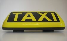 STRONG  MAGNET TAXI ROOF SIGN TOPLIGHT TAXILAMPE + STECKER GRATIS TOP !!