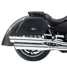 VICTORY KINGPIN Saddlebags/ Pannier Bags & RIGID SUPPORT BRACKETS: S0438 & W0056