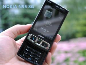 Nokia N95 8GB Storage Camera 5MP Mobile phone smartphone black