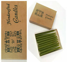Vintage Candles Williamsburg Soap and Candle Co mini Green 20 Ct