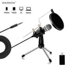 Professional Condenser Recording Microphone M3 PC Iphone Android Windows Studio