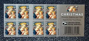 2016USA #5143 Forever Christmas Madonna and Child by Florentine - Booklet of 20