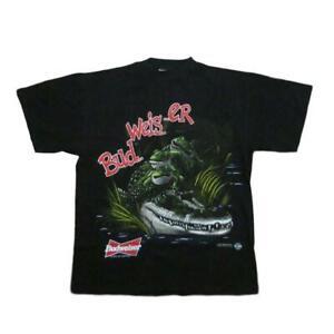 Anheuser Busch Budweiser 1996 Vintage T-Shirt Tultex Sz L