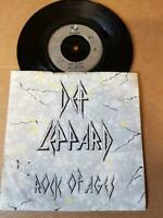"Def Leppard-Rock Of Ages-Vinyl,7"",45 RPM,single Rock Sammlung UK 1983"