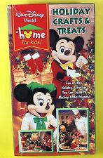 Walt Disney World at Home for Kids: Holiday Crafts & Treats W/ Mickey VHS NEW