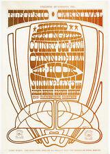 BUFFALO SPRINGFIELD Last Show COUNTRY JOE  FISH 1968 Concert Handbill Neil Young