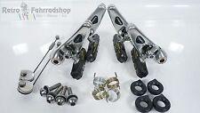 Shimano Deore DX br-m651 Long cantis frenos plata pulido culto 1991 rar Top