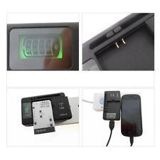 YIBOYUAN Universal Cargador De Batería+puerto USB Para Smartphone Samsung Sony